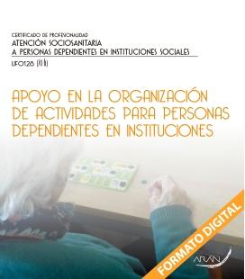 Apoyo en la organización de actividades para personas dependientes en instituciones