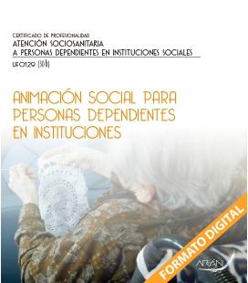 Animación social para personas dependientes en instituciones