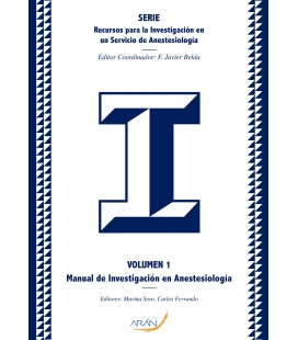 MANUAL DE INVESTIGACION ANESTESIA VOL 1