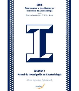 Manual de Investigación Anestesiología - Volumen 1