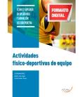 ACTIVIDADES FÍSICO - DEPORTIVAS DE EQUIPO