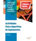ACTIVIDADES FÍSICO-DEPORTIVAS DE IMPLEMENTOS
