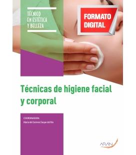 Técnicas de higiene facial y corporal