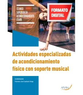 Actividades especializadas de acondicionamiento físico con soporte musical