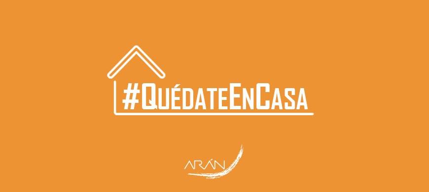 ARÁN EDICIONES - QUÉDATE EN CASA