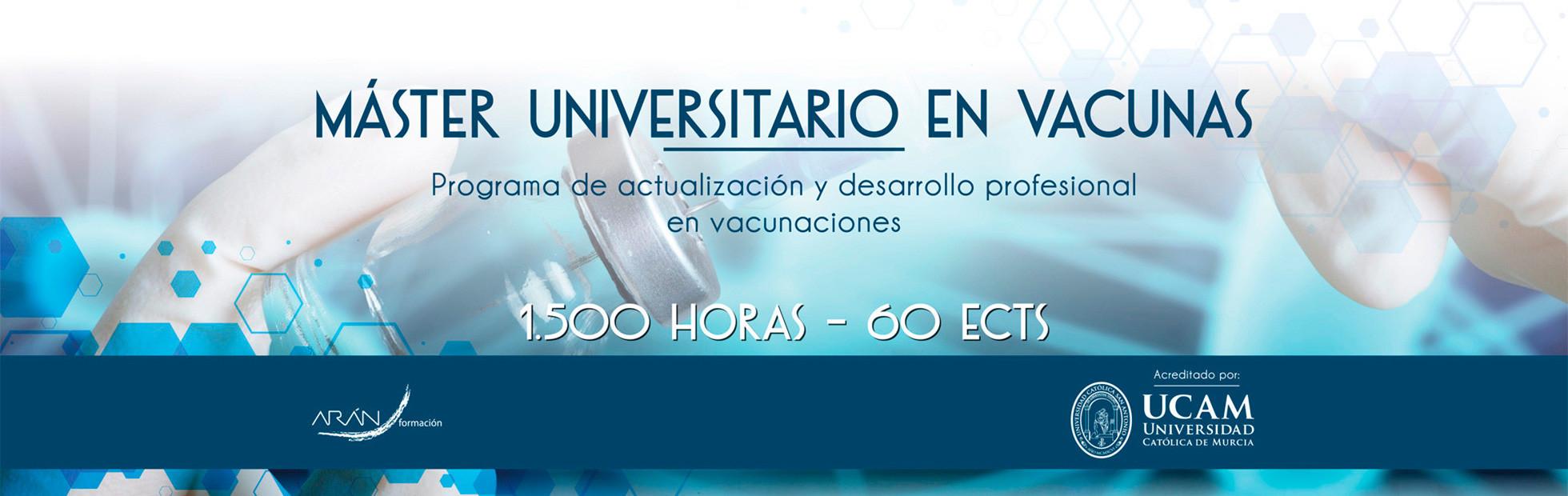 Máster Universitario en Vacunas